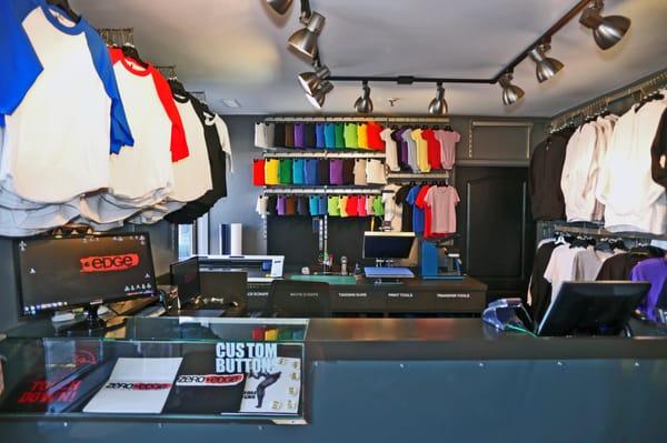 Zero Edge Custom T-Shirt Shop - CLOSED - Fashion - 3181 ...