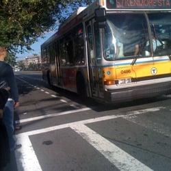 Mbta Bus Route 57 Public Transportation Allston