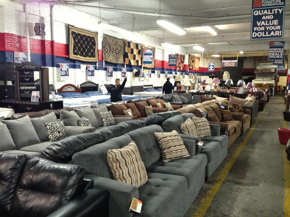 Furniture Shop Warehouse Couch