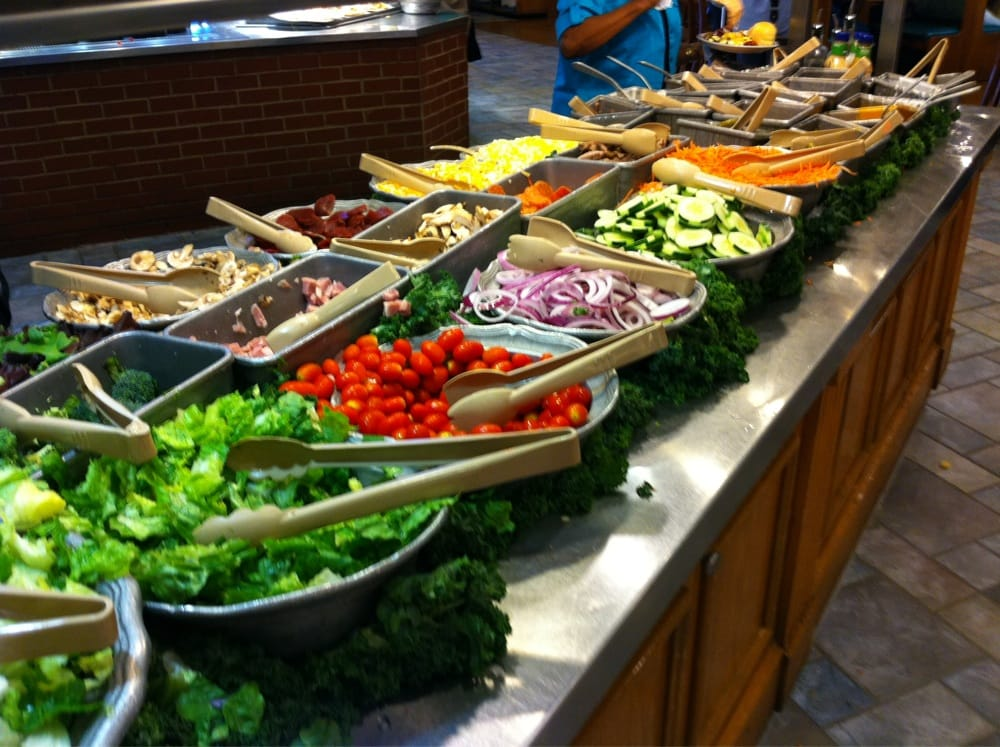 Salad Bar Buffet Near Me