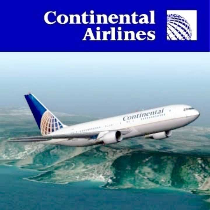 Continental Airlines - CLOSED - Airlines - US Hawaii ...