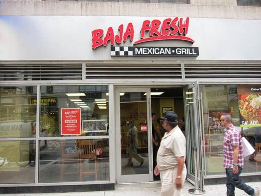 Baja Fresh New York Midtown