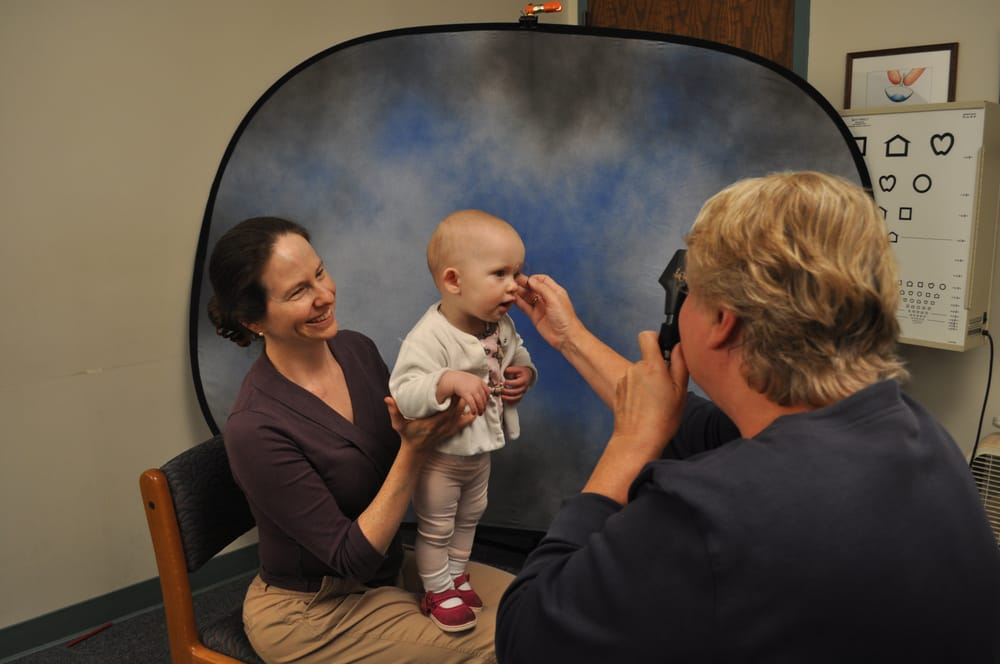 Pediatric eye exams can start as early as 6 months old. - Yelp