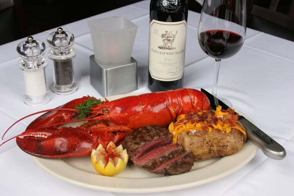 Lobster And Steak Near Me