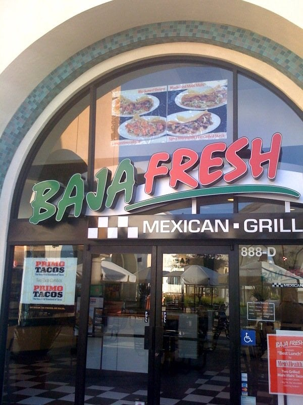 Baja Fresh Ww Points