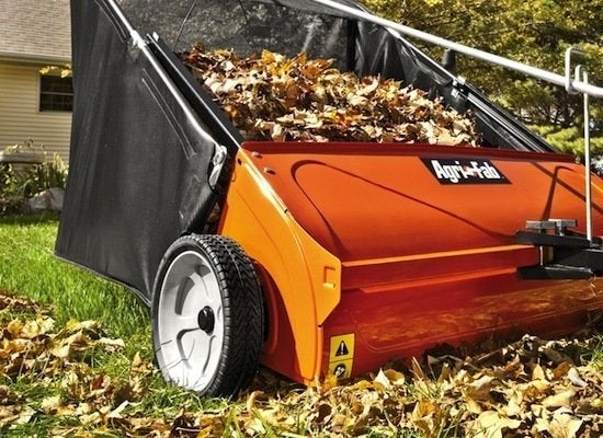 How Rake Leaves Quickly