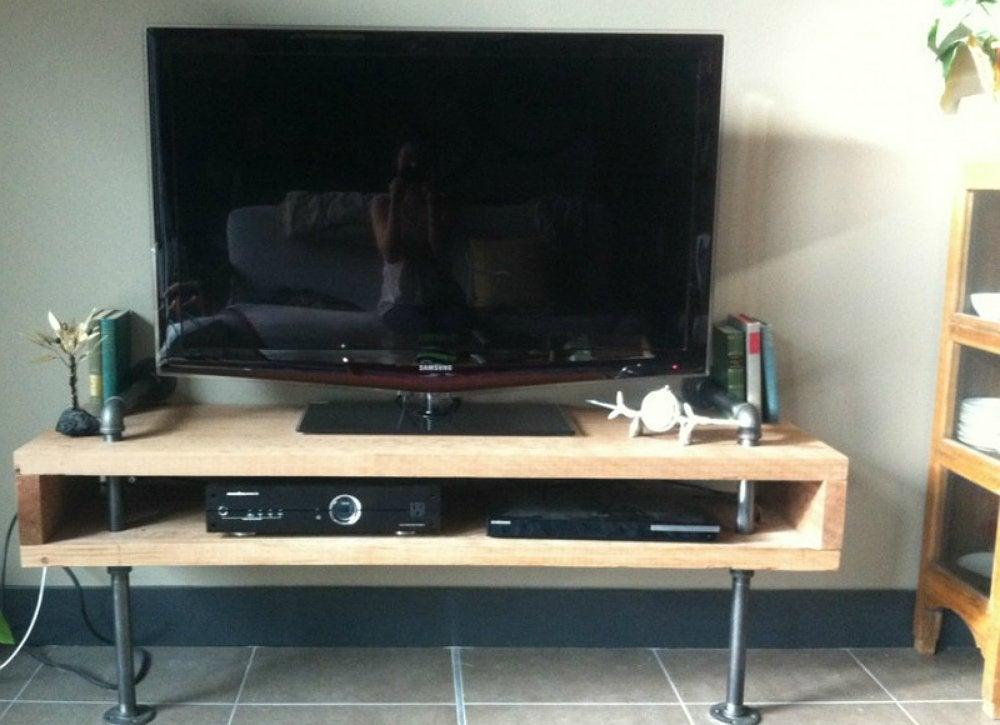 Tv Screen Flat Diy Stand