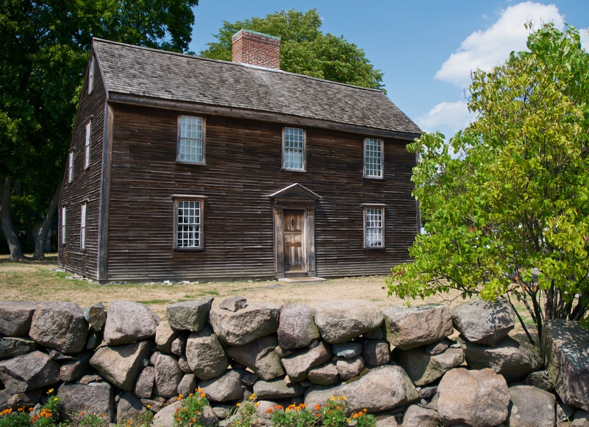 15 Saltbox Houses Worth Their Salt   Bob Vila John Adams Birthplace