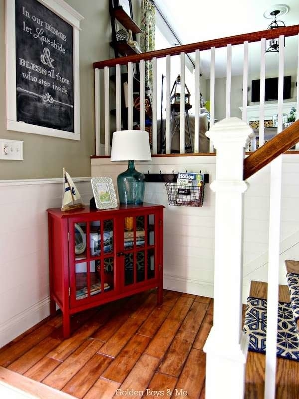 Foyer Ideas Entry Hall Decor 15 Ways To Make A Great Entrance | Split Level Entry Stairs | Raised Ranch | Tri Level | Modern | Knee Wall | Entrance