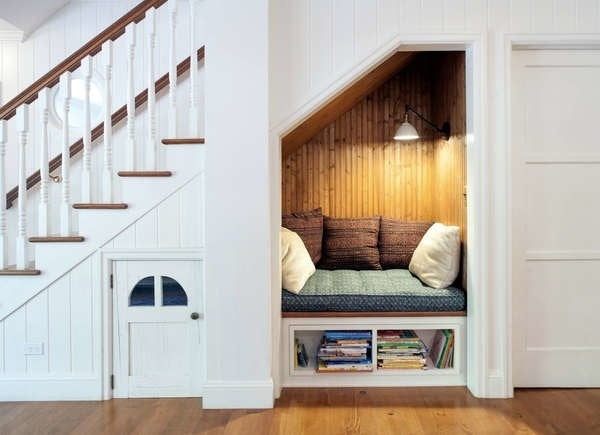 Under Stair Storage 17 Clever Ideas Bob Vila | Cabinet Design Under Stairs | Kitchen | Interior Design | Houzz | Stairs Storage Ideas | Understairs Storage