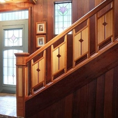 Staircase Railing 14 Ideas To Elevate Your Home Design Bob Vila | Wood And Metal Banister | Modern | Rustic | Stainless Steel | Design | Aluminum