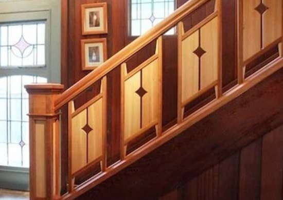 Staircase Railing 14 Ideas To Elevate Your Home Design Bob Vila | Wood Railings For Steps | Deck | Stairwell | Nautical Rope | Outdoor | Easy