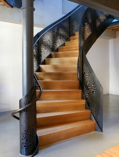 Staircase Railing 14 Ideas To Elevate Your Home Design Bob Vila | Wood And Metal Handrail | Farmhouse | Contemporary | Indoor | Industrial | Modern