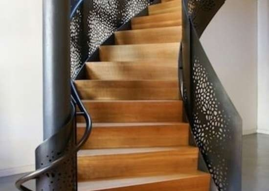 Staircase Railing 14 Ideas To Elevate Your Home Design Bob Vila   Metal Stair Railing Indoor   Exterior Metal   Staircase   Stair Residential Building   Cost Glass   Traditional