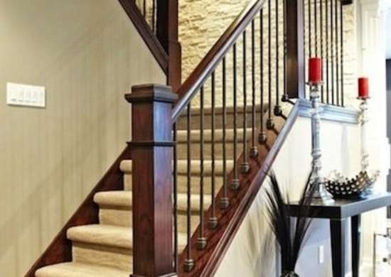 Staircase Railing 14 Ideas To Elevate Your Home Design Bob Vila   White Handrails For Stairs Interior   Indoor   House   Exterior   Spiral   White Metal