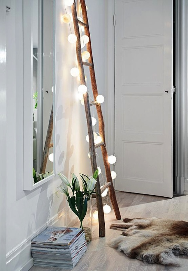 18 Whimsical Ways To Decorate With String Lights Brit Co