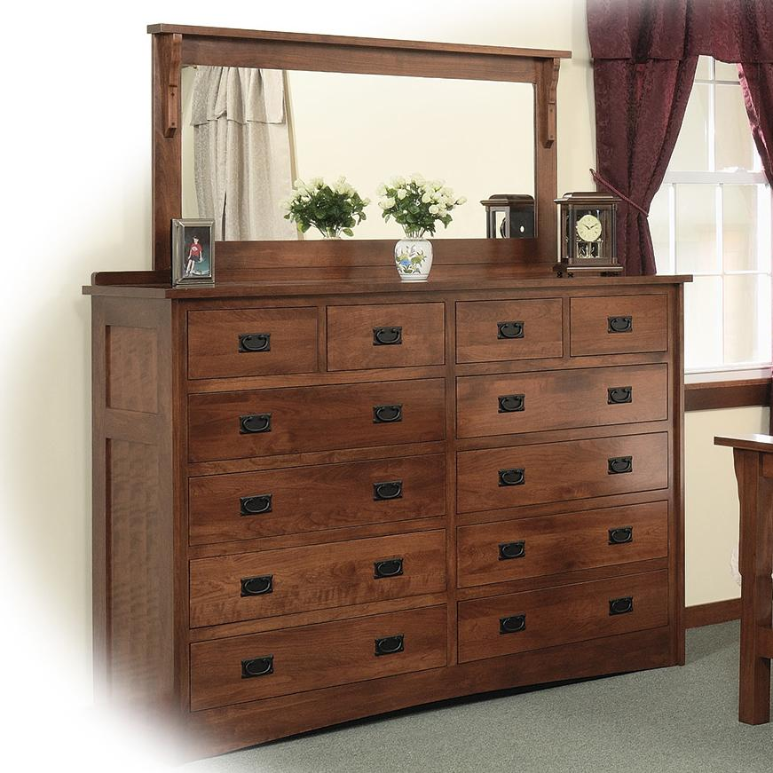 Tall Double Wide Dresser