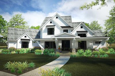 Exciting Farmhouse House Plan with Game Room   16897WG     Exciting Farmhouse House Plan with Game Room   16897WG thumb   02