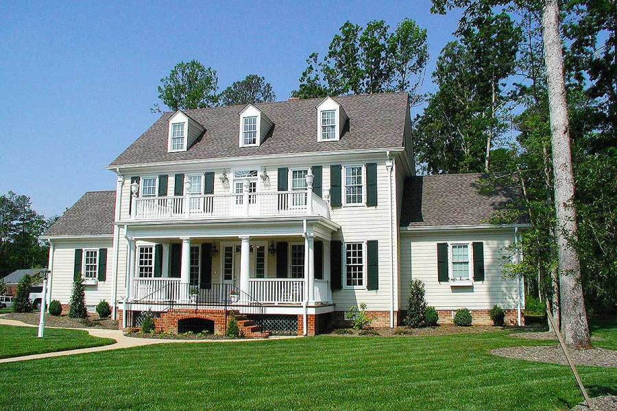 Colonial House Plans   Architectural Designs Colonial House Plans