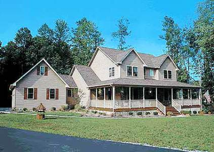 Country Home Plan With Marvelous Porches   4122WM   Architectural     Country Home Plan With Marvelous Porches   4122WM   Architectural Designs   House  Plans