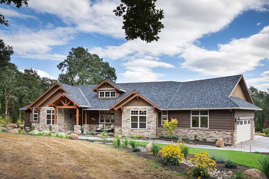 Beautiful Northwest Ranch Home Plan   69582AM   Architectural     Beautiful Northwest Ranch Home Plan   69582AM   Architectural Designs   House  Plans