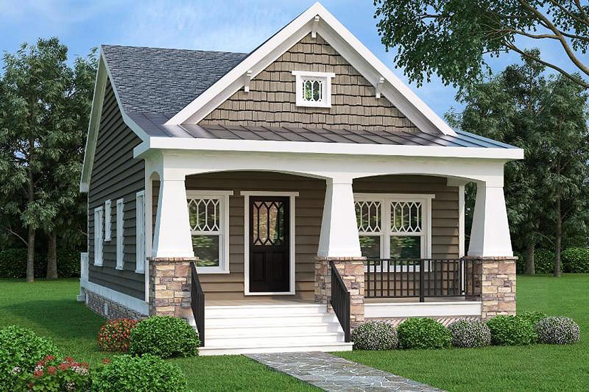 Zinc House Decoration