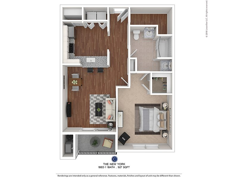 Floor Apartments York Plans Creek