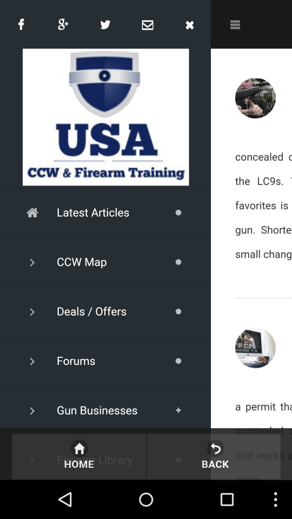 Online Carry Free Concealed Permit