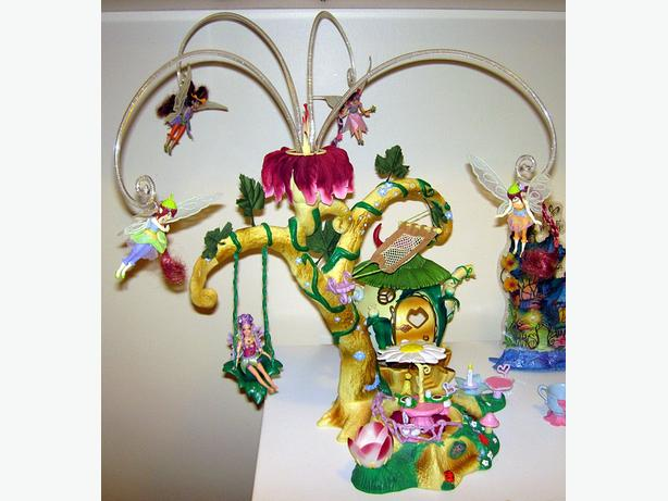 Playmates Disney Fairies Pixie Hollow Home Tree Playset ...