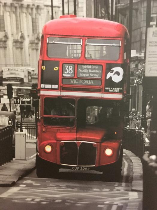 ikea pictures london bus # 74
