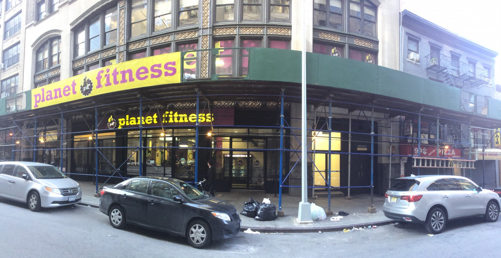 New Wall Fitness Street Planet City York