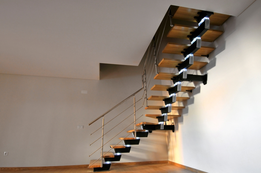 190 Spectacular Staircase Designs Photos Staircase | L Shape Stair Design
