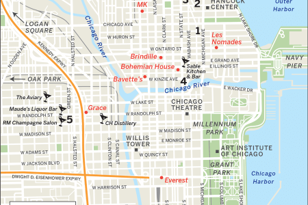 chicago loop hotels and tourist attractions map » Full HD MAPS ...