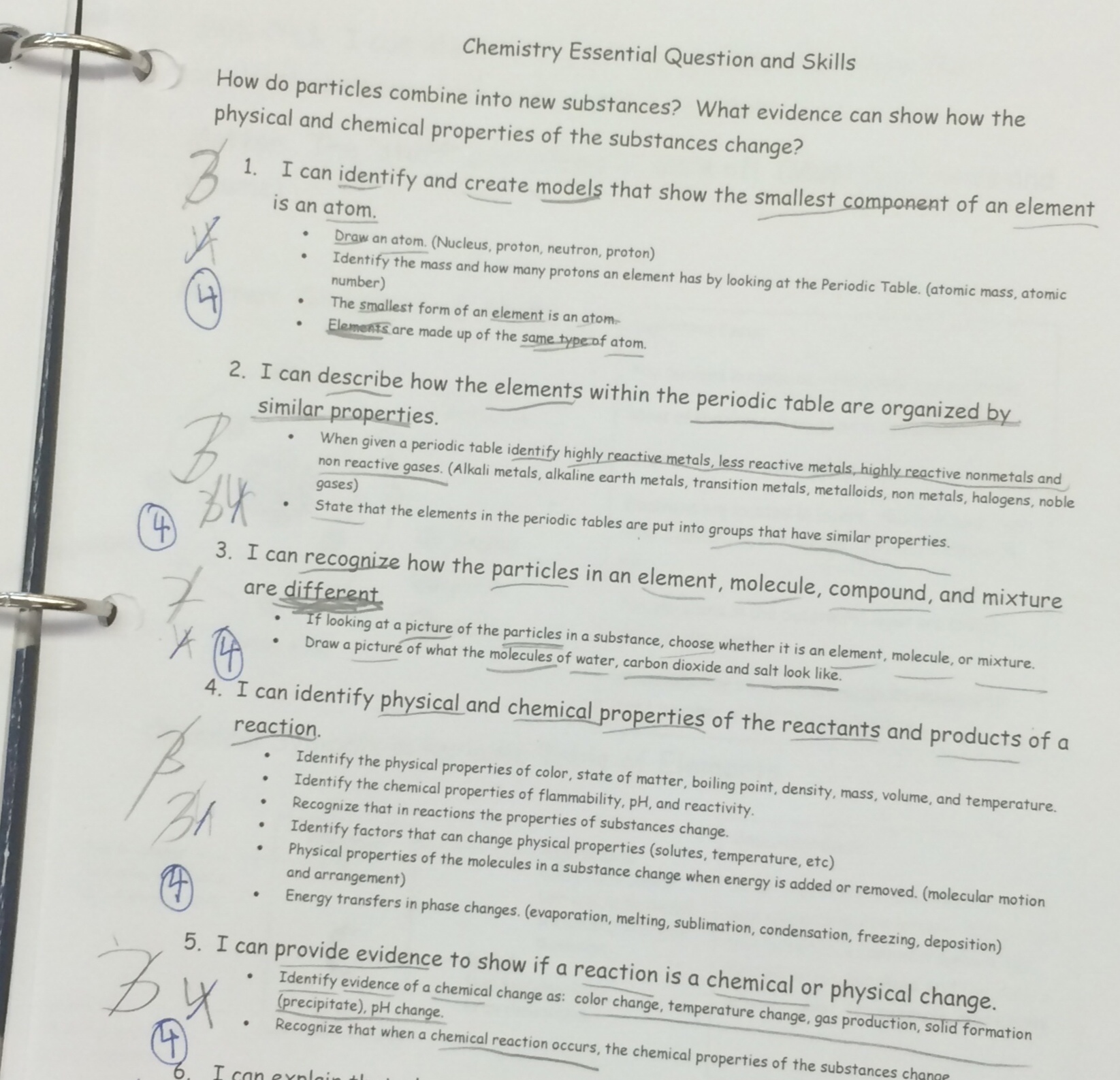 Note Taking Worksheet Section 3 The Periodic Table Answers
