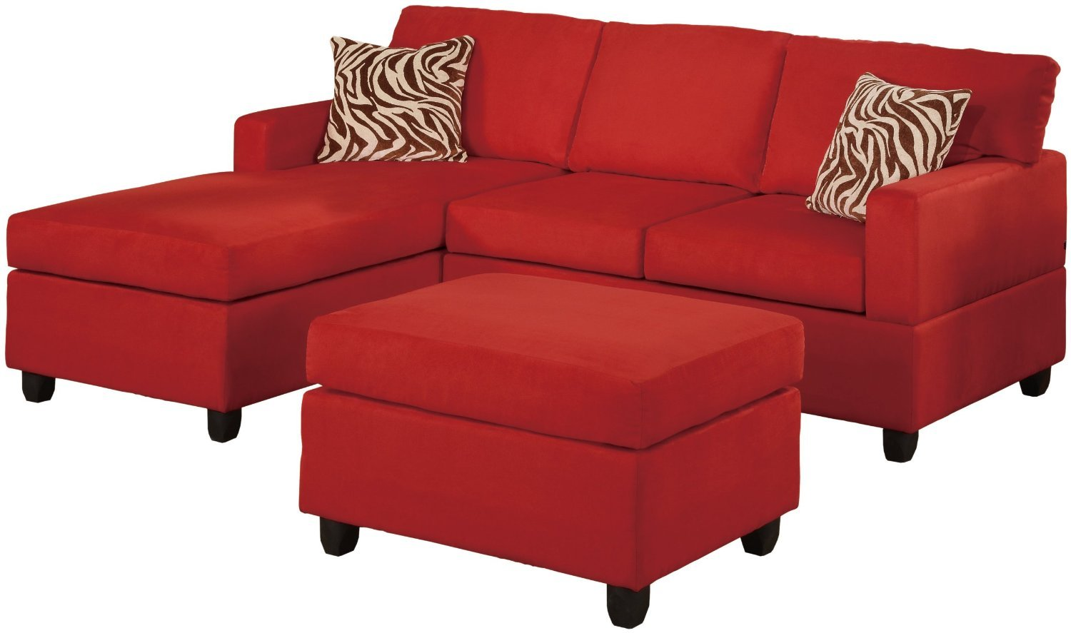 Microfiber Sectional Sofa Chaise
