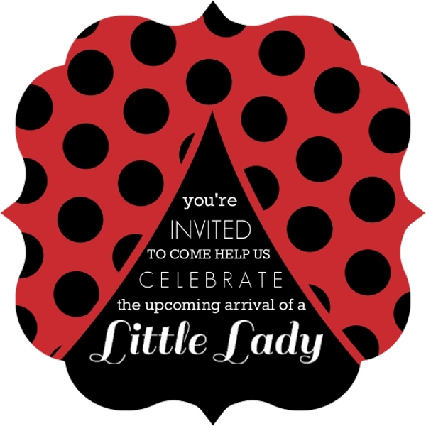 Cheap Ladybug Invitations