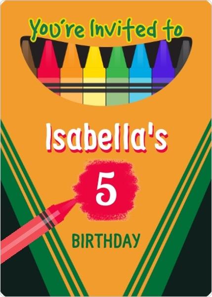 Birthday Invitation Cards Free