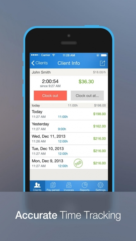 Hours Keeper Pro   Time Tracking  Timesheet   Billing Business App     Hours Keeper Pro   Time Tracking  Timesheet   Billing