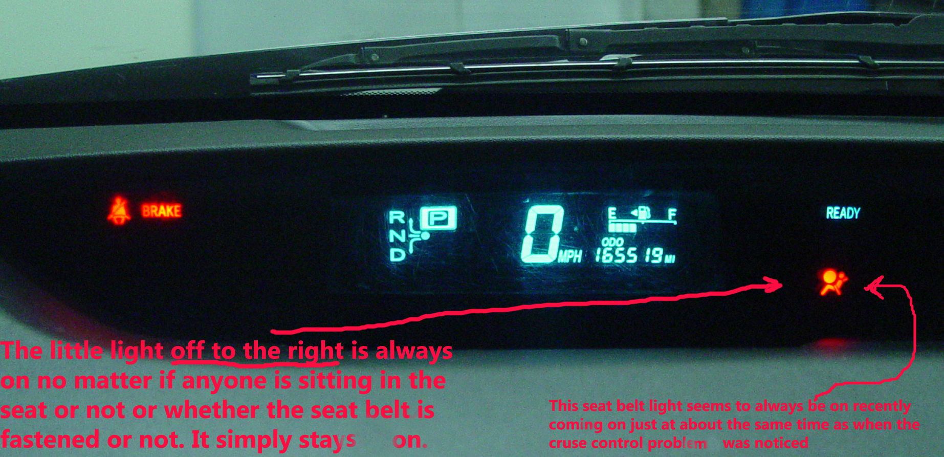 Toyota Prius Dashboard Lights 2017 Ototrends Net