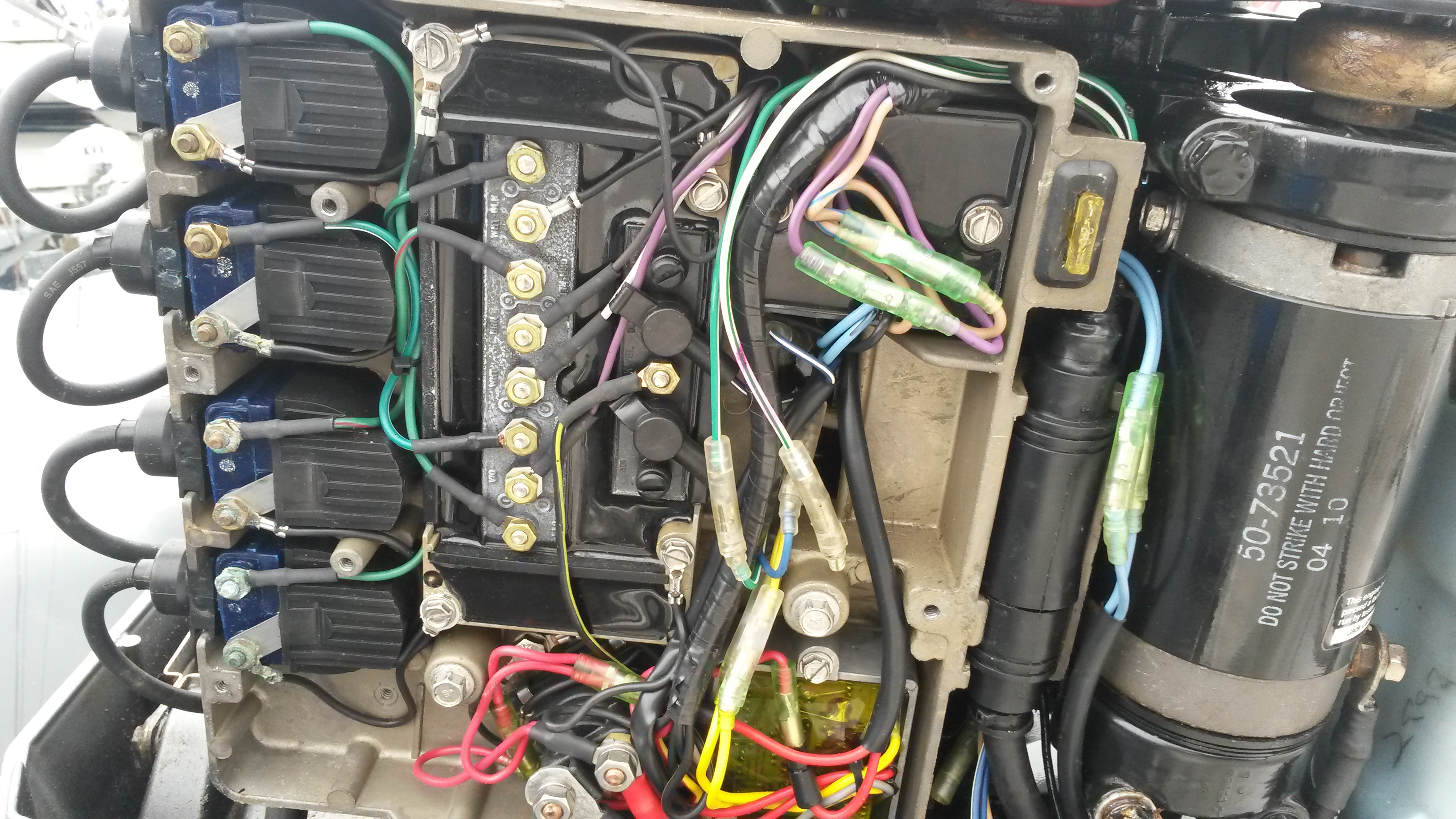 Evinrude Control Box And Cables