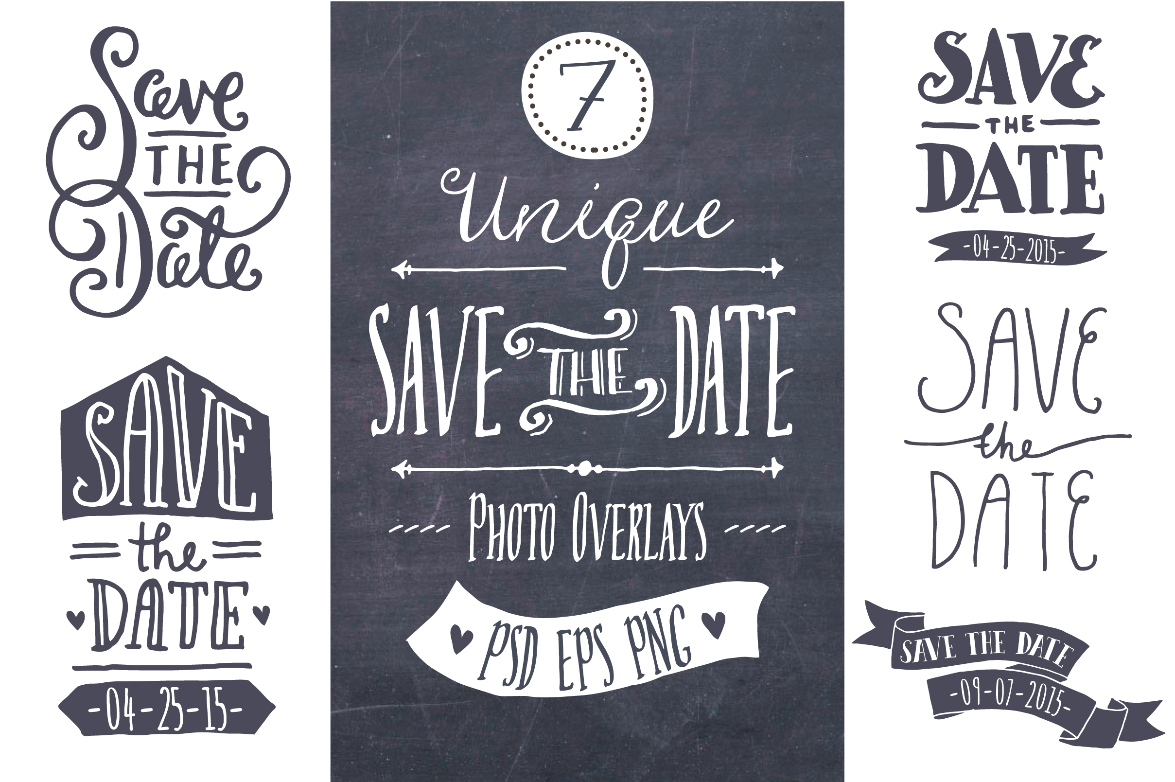 Save Date Cards 3d