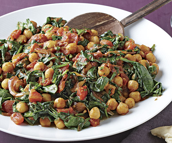 Spinach and Chickpea Curry   Recipe   FineCooking Scott Phillips
