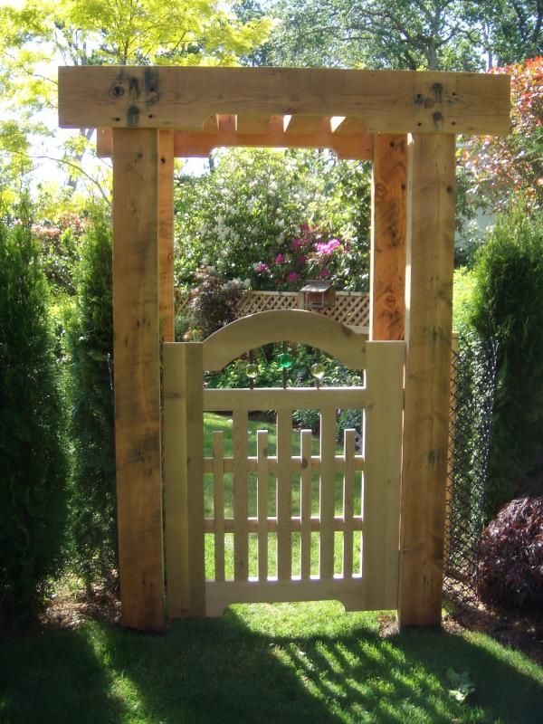 Garden Gate Amp Pergola Fine Homebuilding