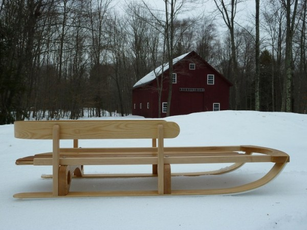 Snow sled for my boys   FineWoodworking Inspired by the massive snowfall this year  I decided to build this sled  for my twin 2 1 2 year old boys  I searched online for plans but was unable  to find