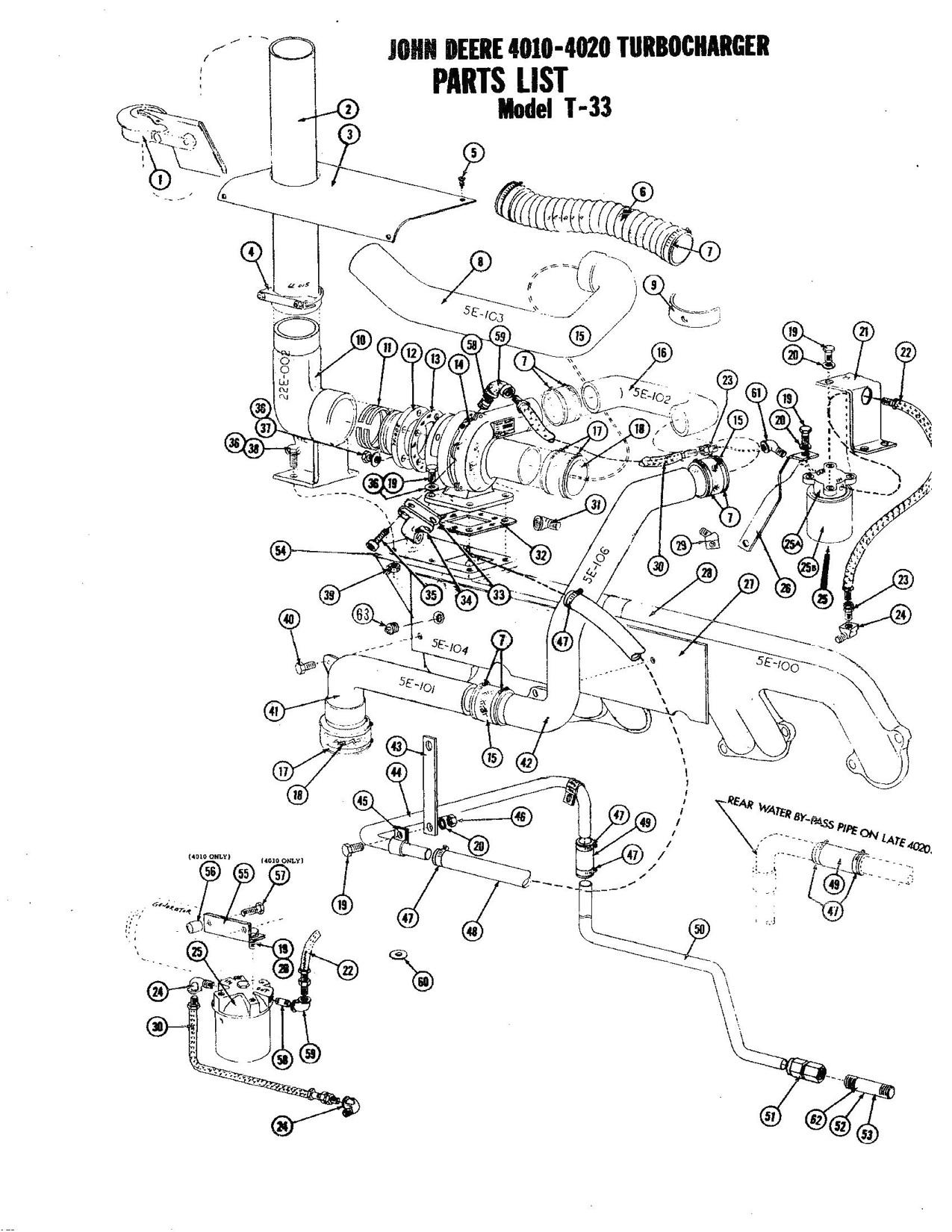 John deere 4010 t 33 diagram