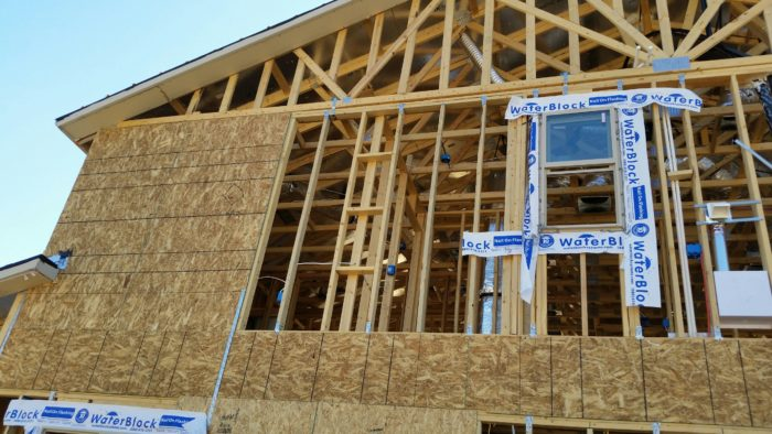 Why Are Houses Built This Way    GreenBuildingAdvisor Is this house really almost ready for stucco  A house under construction  near Phoenix  Arizona  is missing sections of wall sheathing and features a