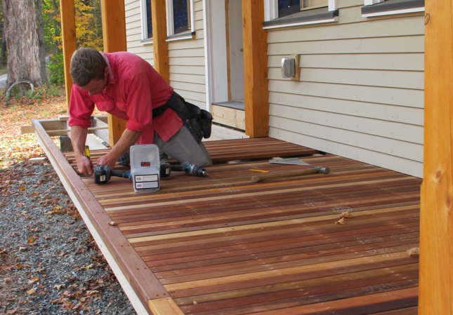 Using Reclaimed Wood For Porch Decking Greenbuildingadvisor