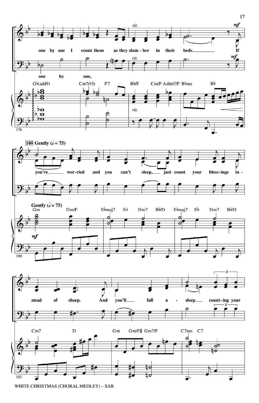 White Christmas Sisters Instrumental