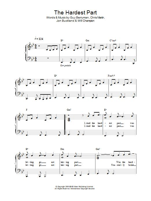 Viva La Vida Piano Part
