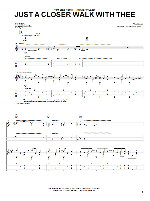 Old Fashioned The Old Rugged Cross Chords Composition - Basic Guitar ...